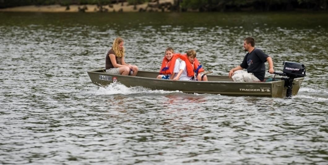 Boating at Chickahominy Riverfront Park