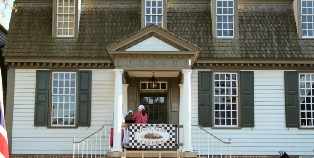 King's Arms Tavern in Colonial Williamsburg