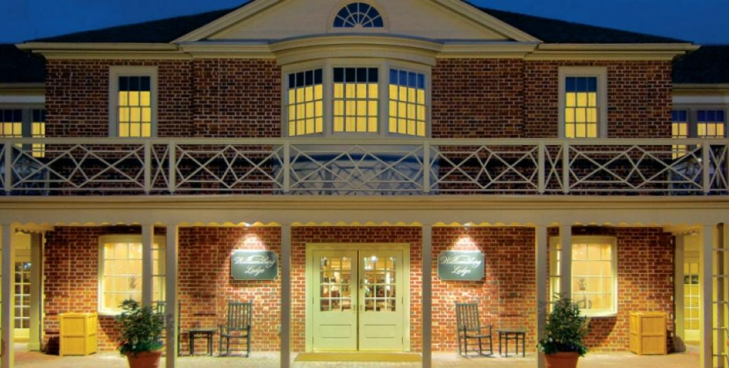 Williamsburg Lodge Front Entrance