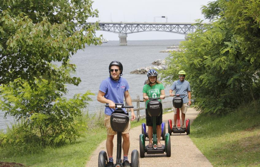 Patriot Tours and Provisions Segway