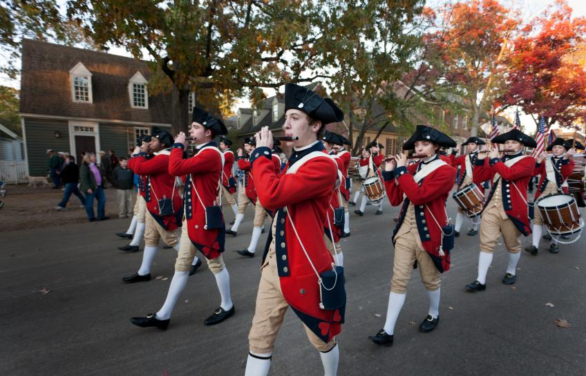 Colonial Williamsburg Fife & Drum March