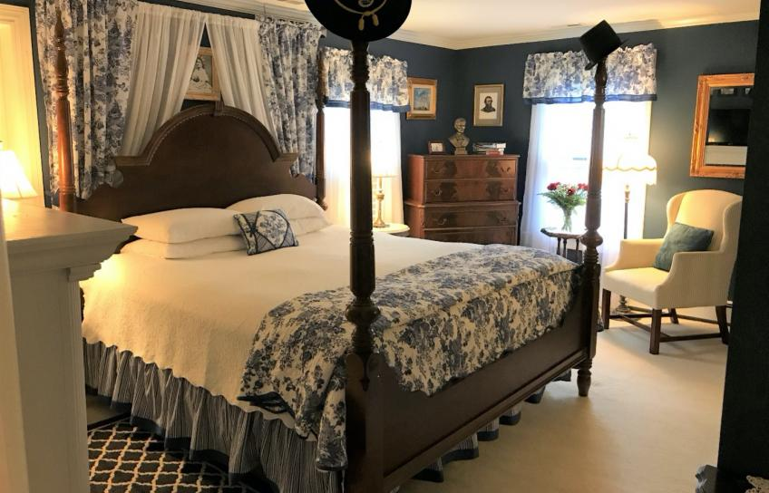 Blue Bedroom at Bed and Breakfast
