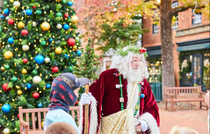 Father Christmas Merchants Square
