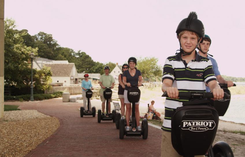 Segway tour of Historic Yorktown