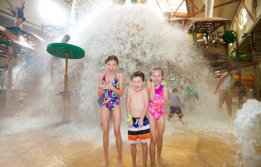 Beat the summer heat with a trip to a Williamsburg water park