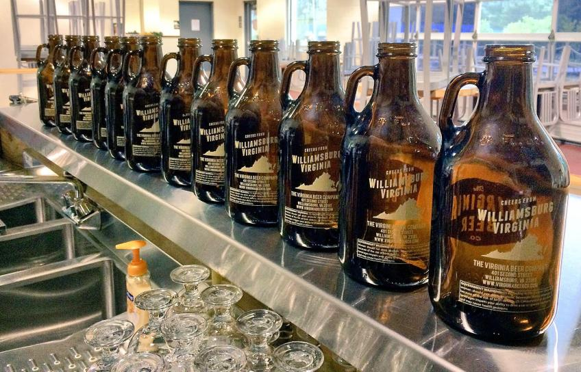 Bottles at Virginia Beer Company