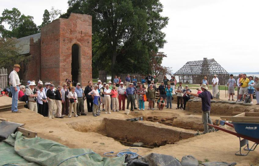 Tour at Historic Jamestowne