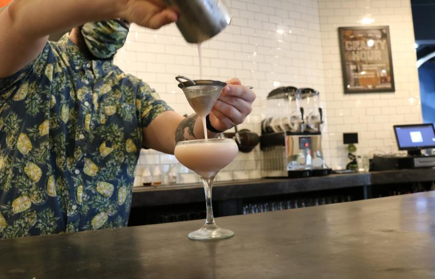 Zack Mayher Creates a Cocktail