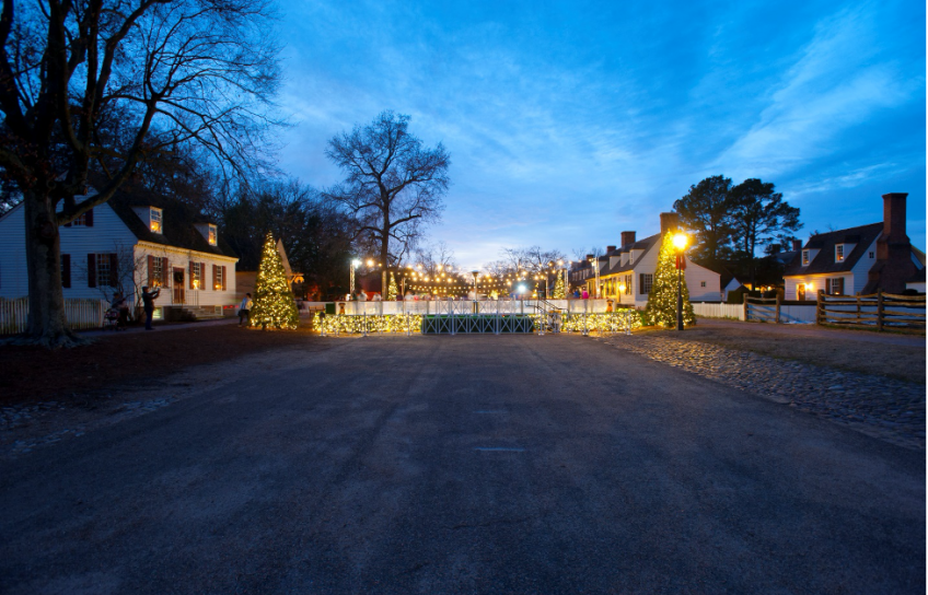 Christmas Trees at Liberty's Ice Pavilion
