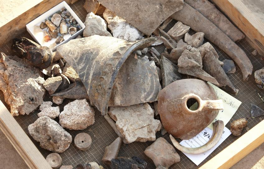 Archaelogical findings at Historic Jamestowne