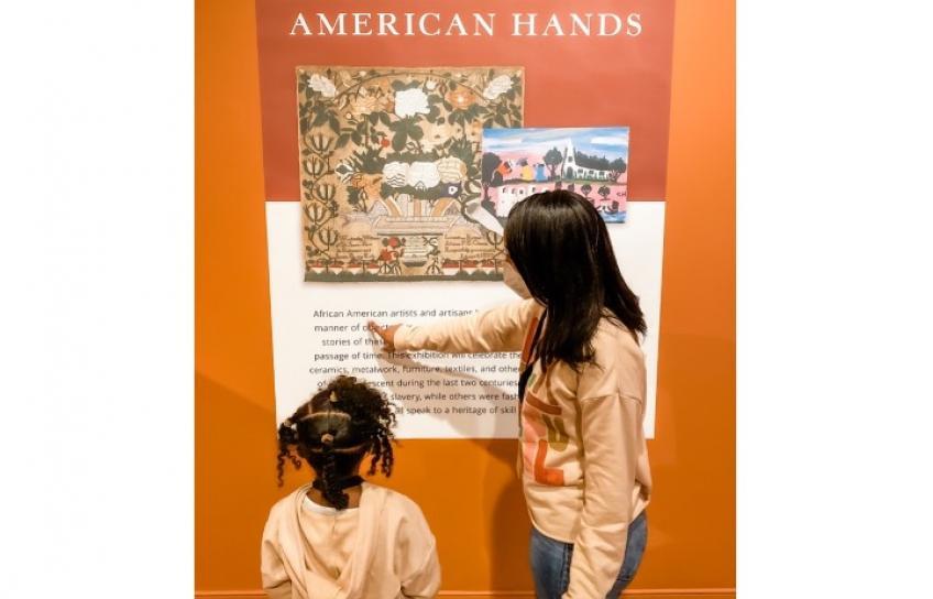From African Hands Exhibit