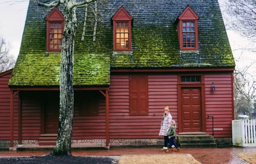 Colonial Williamsburg Maroon House