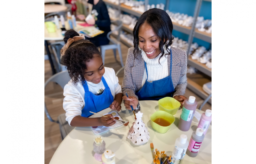 Ashley W and Daughter Pottery