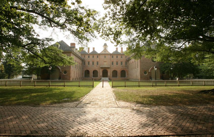 Sunken Garden at The College of William & Mary