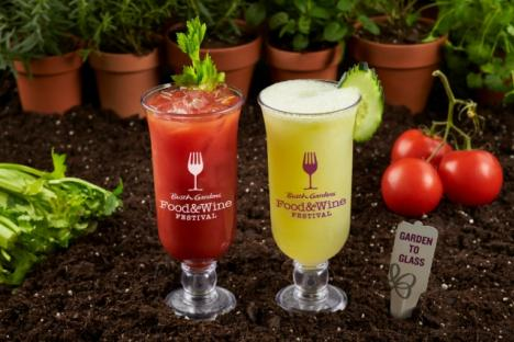 2019 Food & Wine Festival Beverage Bars
