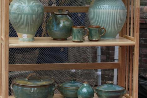 Local artists show their wares at 2nd Sundays Art Festival in Williamsburg, VA