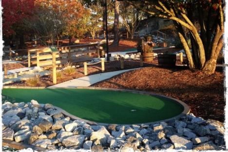 Gold Rush Miniature Golf