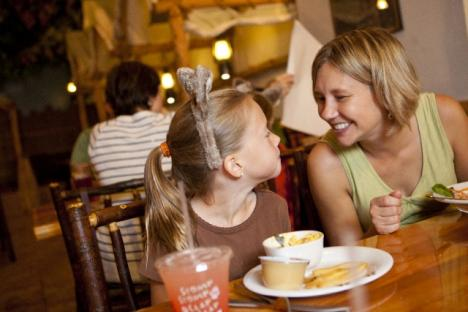 With five onsite dining locations, Great Wolf Lodge has something to tempt everyone's taste buds