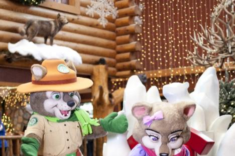 Snowland, held each December is Great Wolf Lodge annual winter wonderland celebration.