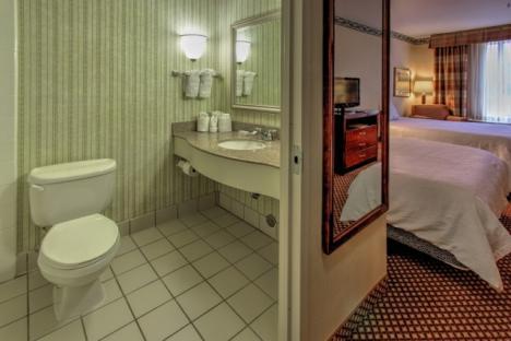 Double Queen Room at Hilton Garden Inn Williamsburg
