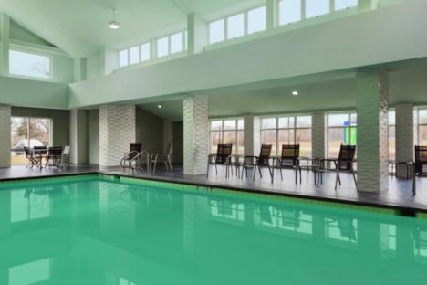Refresh & Rejevenate in pool & fitness center