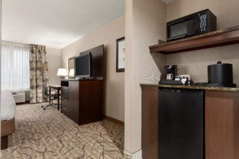 All Rooms Feature Microwave, Refrigerator & Coffee Maker