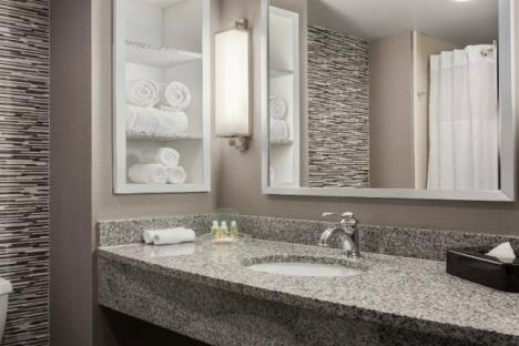 Beautiful Bathrooms with Spa Amenities