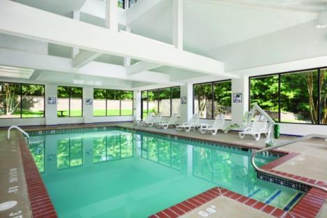 Refresh in the Indoor Pool