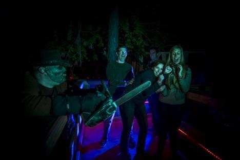 Demon Street terror-tory at Busch Gardens Howl-O-Scream