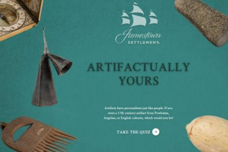 Artifactually Yours interactive