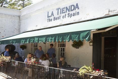 Patio at La Tienda