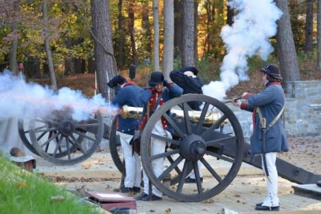 The American Revolutionary War Museum at Yorktown is within walking distance of the inn.