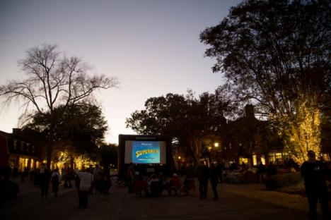 Outdoor Movies on the Big Screen