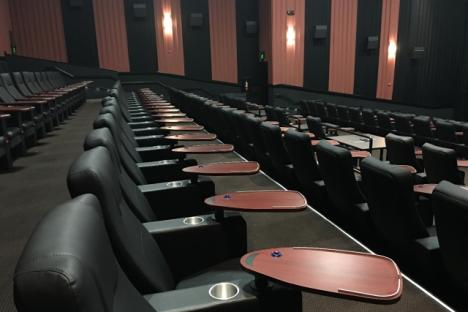 Upgraded Theater Seats