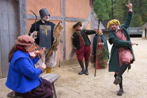 "On Dec. 23-31, enjoy fun and games of the ""Lord of Misrule"" at Jamestown Settlement."