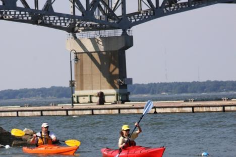 Kayaks are a great outdoor activity for the entire family.