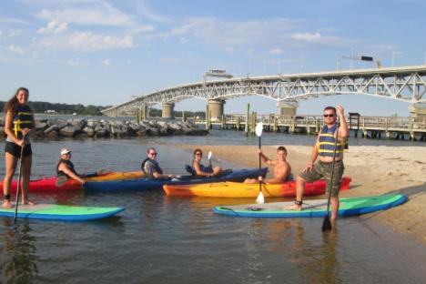 Patriot Tours & Provisions offers kayak, paddle board, and bicycle rentals to explore Yorktown at your own pace!