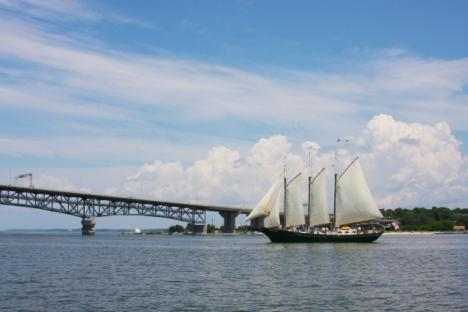 The Schooner Alliance offers sails from April - October