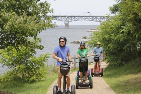 Take a guided Segway tour with Patriot Tours to learn about Yorktown and its history!