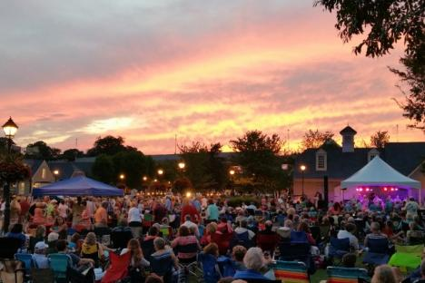 Yorktown's Sounds of Summer Concerts are free on Thursday nights in June and July