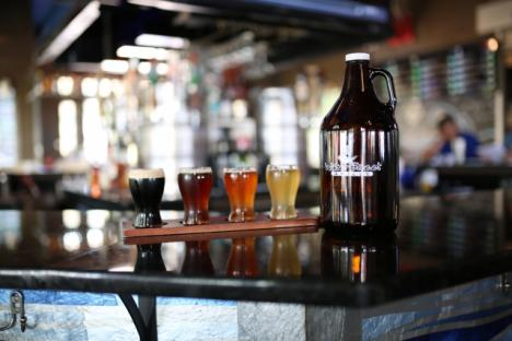 Water Street Grille serves 20 micro-brews on rotated tap and offers live music every weekend!