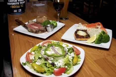 Greek Salad & Ribeye