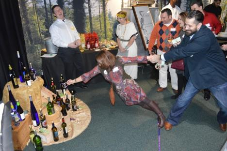 Guests playing games at the Bacchus Wine & Food Festival.