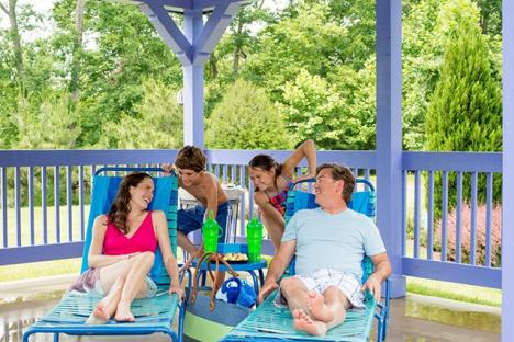 The park features resort-style amenities to help guests make the most of their day, including lounge chairs and deluxe cabana rentals
