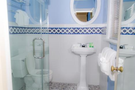 Colonial King Guestroom Bathroom
