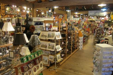 View of all of the store's excellent offerings