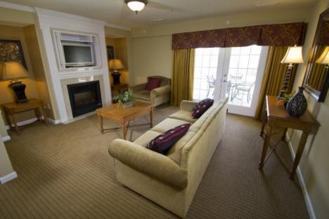 spacious multi bedroom golf villas