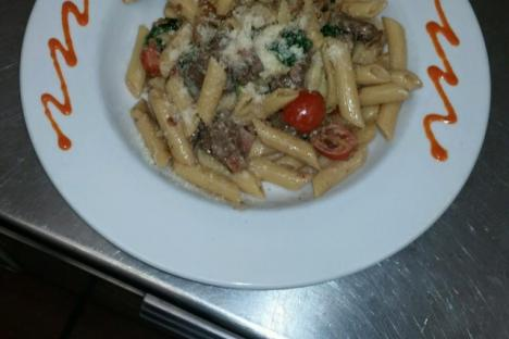 Penne with Sausage and Broccoli! Lunch and Dinner Specials run daily!