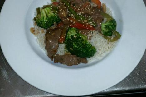 Beef Stir Fry Dinner Special!