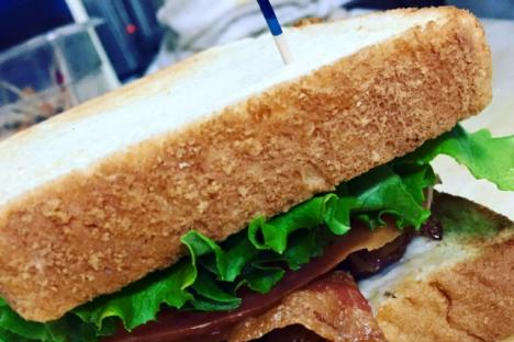 That's one Gorgeous BLT!!! You can also get a BBLT (for those bacon lovers out there!)